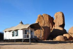 Spitzkoppen Lodge Tent
