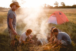 Wilderness sleep outs 2