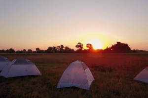 Wilderness sleep outs