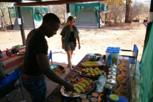 Zimbabwe dining time David Havemann