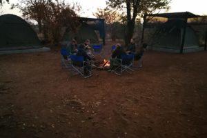Zimbabwe sitting around the fire David Havemann