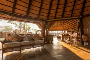 africa on foot lounge area