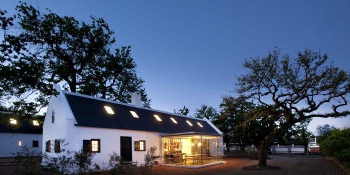 babylonstoren cottage night