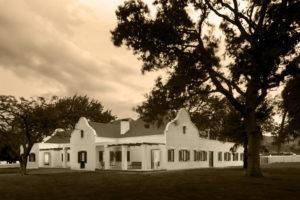 babylonstoren farmhouse dusk