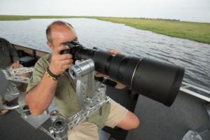 botswana photographic safari on boat