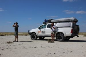 botswana self drive safari frank and gesa
