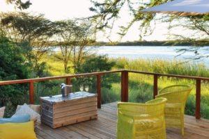chobe bakwena lodge honeymoon deck