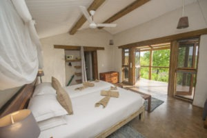 chobe elephant camp bedroom inside