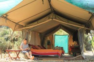 gbc guest tent outside