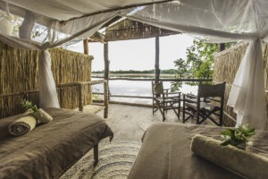 island bush camp room view