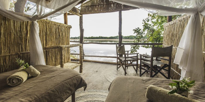 island bush camp room view