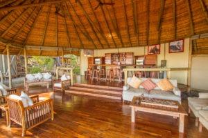 kwando lagoon camp bar