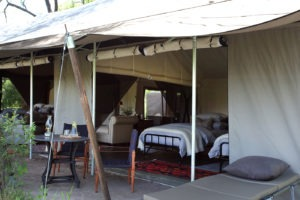 machaba camp family room outside