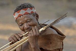 makgadikgadi pans bushmen experience arrows