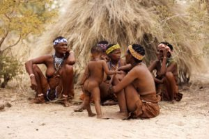 makgadikgadi salt plan bushmen cultural experience tribe