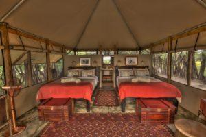 meno a kwena twin room interior
