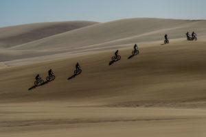 namibia fat bike adventure across desert