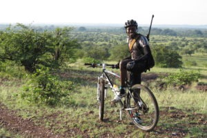 northern tuli botswana cycling safari guide