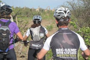 northern tuli botswana cycling safari mahatu game viewing