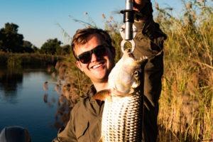 okavango delta botswana panhandle fish and frank