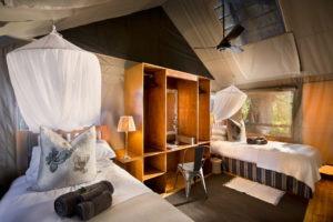 pafuri camp twin beds