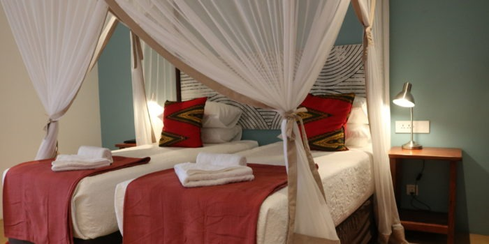 phezulu guest lodge bed