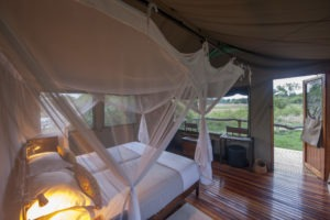 sango safari camp khwai bedroom view
