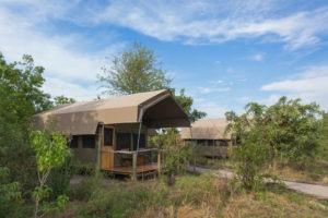 sango safari camp khwai guest tents