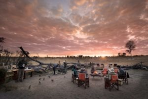 somalisa expeditions hwange sunset