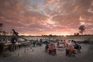 somalisa expeditions hwange sunset