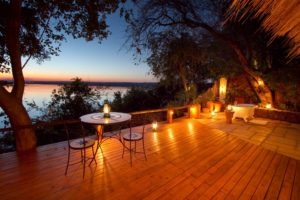 tongabezi lodge livingstone deck