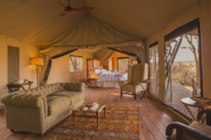 verneys camp hwange lounge tent