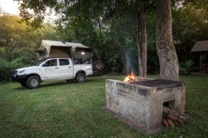 zambia self drive safari fire dining