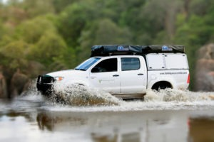 zambia self drive safari water