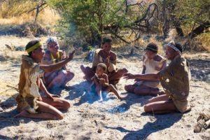 Botswana Bushmen Activity
