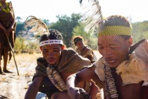 Central Kalahari Botswana Bushmen