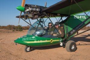 Greater kruger National park rhino flight