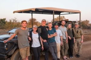 Greater kruger national park game drive safari