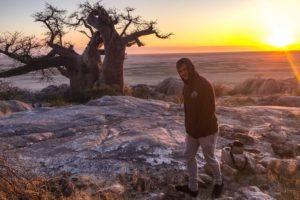 Makgadikgadi Pans Kubu Island Frank Sunrise