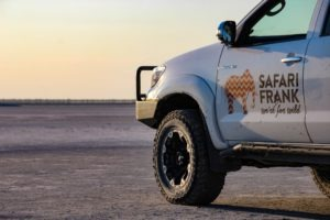 Makgadikgadi Pans Kubu Island safari frank vehicle self drive safari