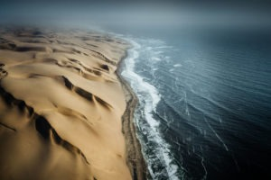 Northen namibia damaraland aerial photo