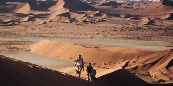 Southern Namibia landscape photography jason and emilie safari sossusvlei dune walk big daddy