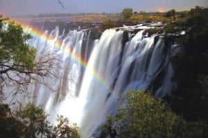 Zambia and zimbabwe victoria falls world wonder