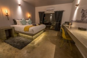 chobe pangolin hotel bedroom