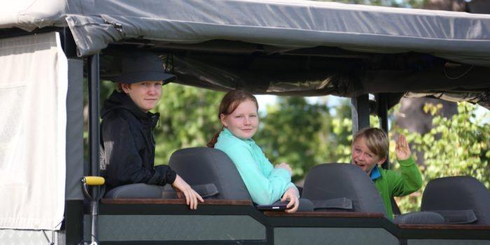 gannon family safari kids in game viewer