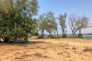lower zambezi tusk and mane tent shade river
