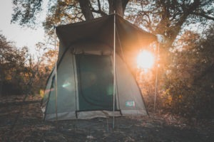 lowveld trails timbavati tent sunrise