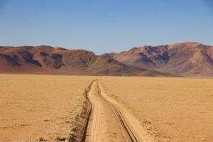 southern namibia landscape tracks