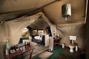 zambezi expeditions mana pools bathroom