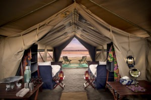 zambezi expeditions mana pools bedroom view